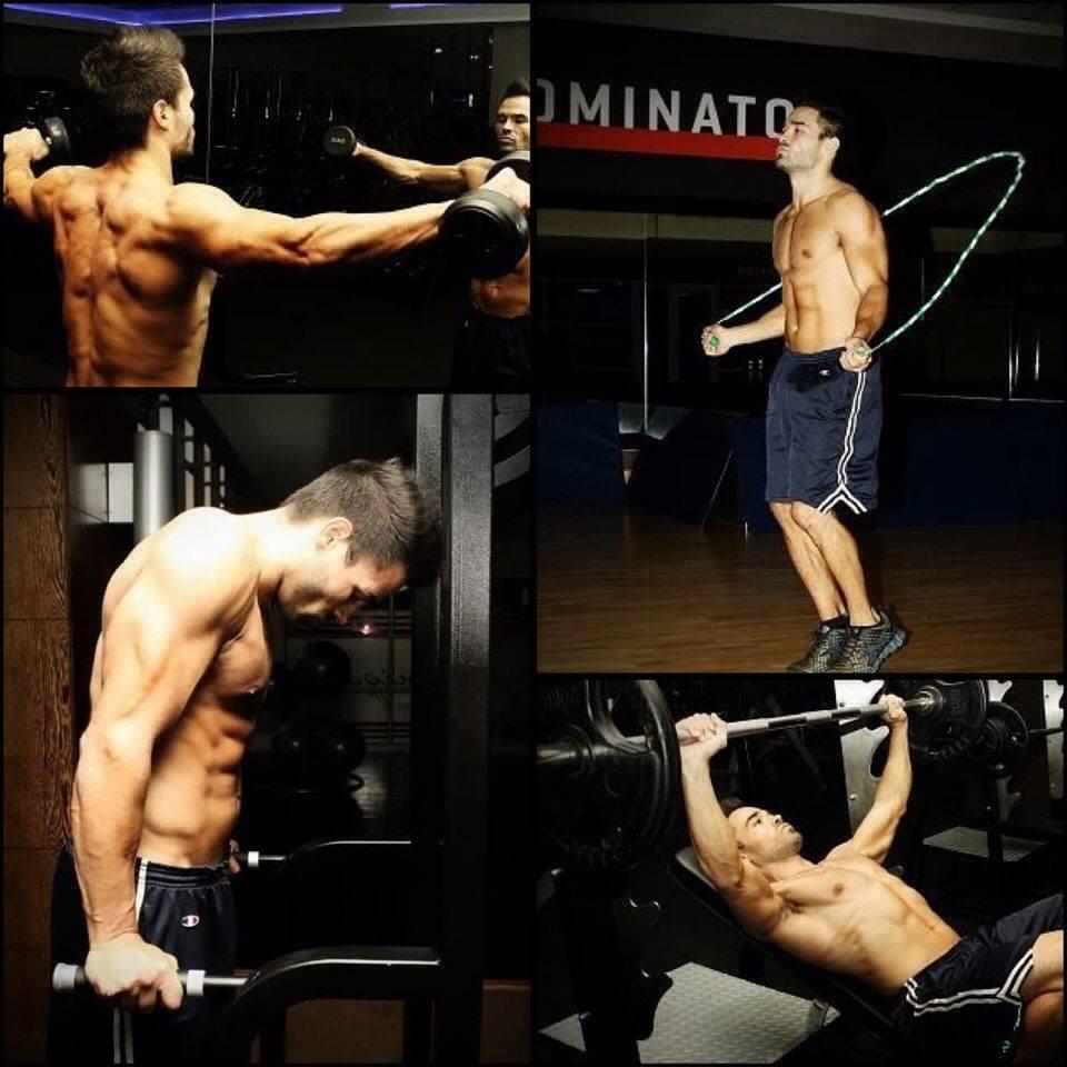 Gavin Nascimento workout