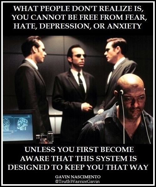 depression matrix system quote