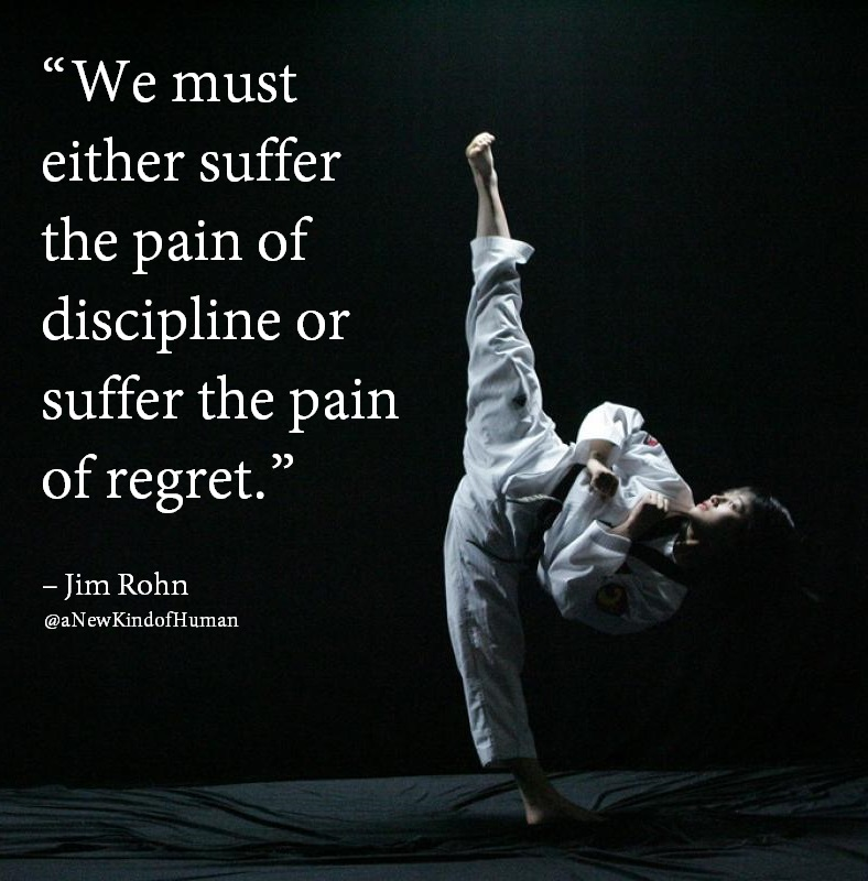 Suffer the pain