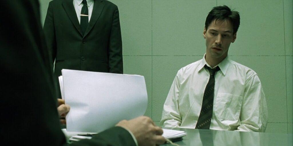 esoteric meaning matrix interrogation